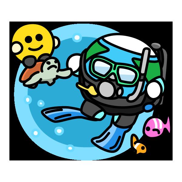 スクーバダイビングの日