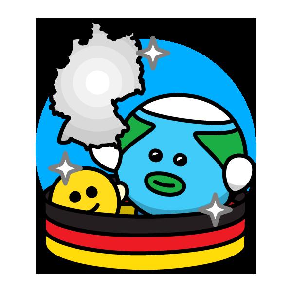 東西ドイツが統一した日